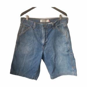 Levi's men's Y2K denim Carpenter shorts
